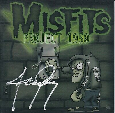 Misfits Project 1950 1st Release Booklet ONLY Signed by Jerry No CD No DVD