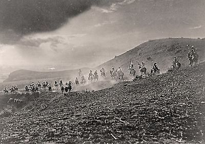 """1913- Native American Indians, Sioux, Ride hoses, stunning photo, 14""""x10"""""""