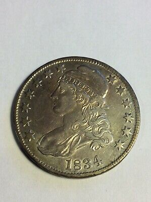 US 1834 Capped Bust Half $1 DOLLAR COIN