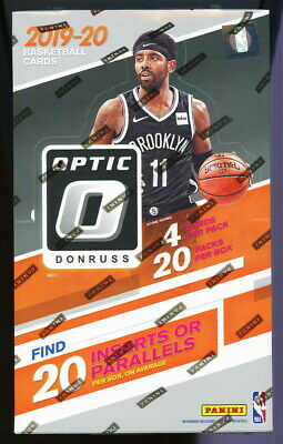 2019 PANINI DONRUSS OPTIC BASKETBALL SEALED 20 PACK RETAIL BOX rc sp silver holo