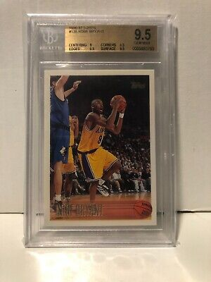Kobe Rookie #138 Graded BGS 9.5 Beckett Gem Mint Condition