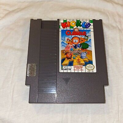 Kickle Cubicle NES (Nintendo Entertainment System, 1990) Game Only