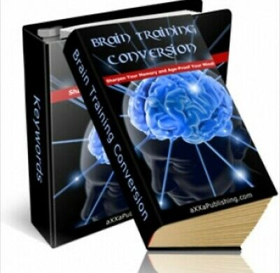 Brain Training sharpen you memory and age eBook PDF  Master Resell Rights Focus