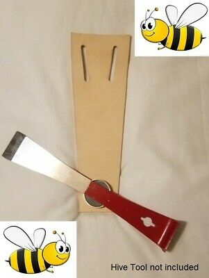 Hive Tool Magnetic Leather Belt Holster for Beekeeping / Hive Inspections LOOK!