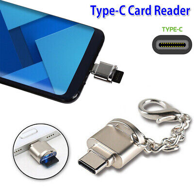 USB 3.1 Type C Micro SD TF Memory Card Reader OTG Adapter For MacBook Samsung