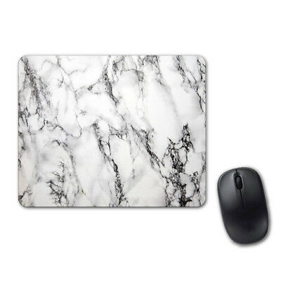 White Marble Lovely Mouse Pad Computer Tablet PC Laptop Mice Mat