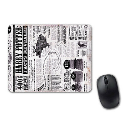 Harry Potter Facts Revealed Mouse Pad Computer Tablet PC Laptop Mice Mat