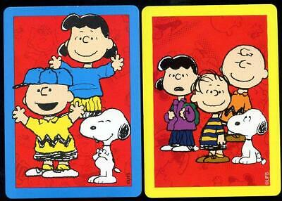 Vintage Swap Cards Snoopy And Charlie Brown Set In Mint Condition