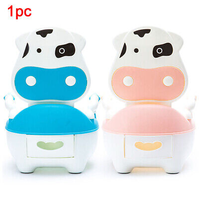 Baby Kids Children Toddler Potty Toilet Training Trainer Urinal Seat w/ Brush