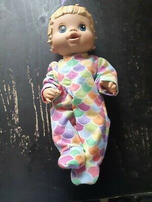 Homemade Little Baby Alive Rainbow Scales Coverall Pyjamas for 33cm doll