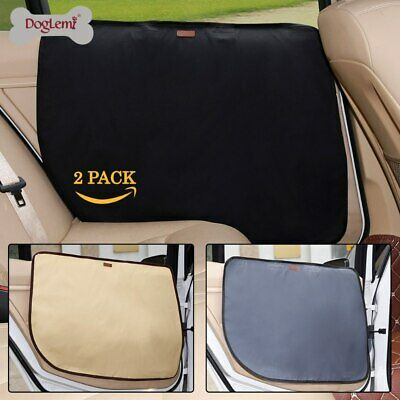 Pet Dog Puppy Seat Cover Truck Car Front Rear Door Panel Protector Scratch Guard