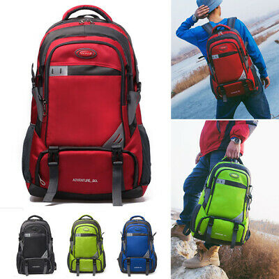 Brand New Outdoor Zip Travel Bag Trekking Rucksack Sport Hiking Backpack 60L