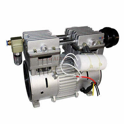 520W Oilless Piston Vacuum Pump 220V -98Kpa 90L/MIN Refrigeration Vacuum Pump