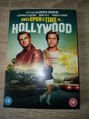 Once upon a time in... hollywood dvd 2019
