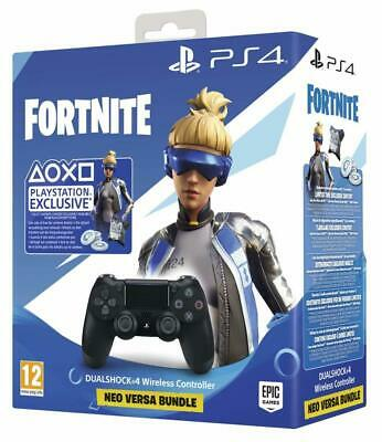 Sony PlayStation 4 Wireless Controller Black: Fortnite Neo Versa Bundle
