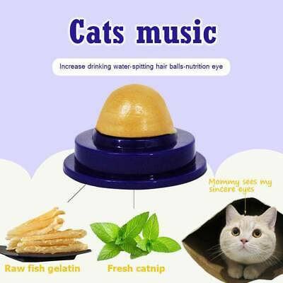 Catnip Healthy Cat Snack Sugar Candy Licking Toy for Cats Kittens Nutrition Ball