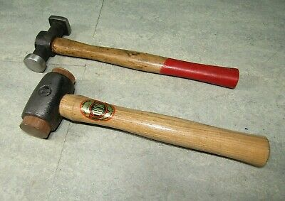 Panel beaters hammer and Thor copper mallet number 1