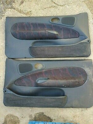 Escort MK6 RS2000 1995 onwards Pair of  Door card cards, no other trim here.
