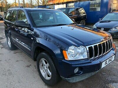 2006 Jeep Grand Cherokee 3.0 Crd Limited *Spares/Repairs* Gearbox & Abs Light On