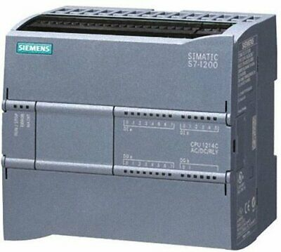Siemens 6ES7 214-1AG40-0XB0 Simatic S7-1200 CPU 1214C Compact New out of Box