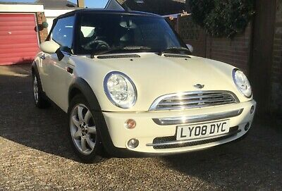 Mini Cooper Convertible 1.6 - 2008 cream (white)