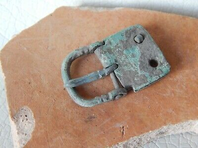 Ancient Roman Empire Bronze Belt Buckle. #2