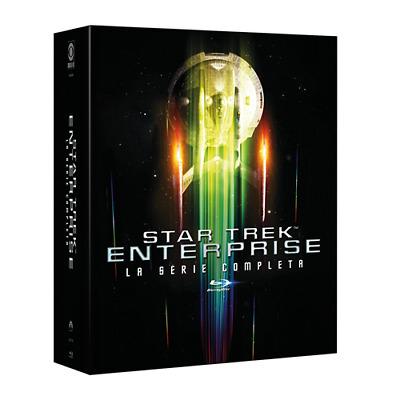 STV *** STAR TREK ENTERPRISE: Stagioni 1-4 (24 Blu-ray) *** sigillato