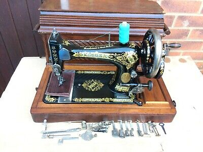 1901 Antique Singer 28K HandCrank Sewing Machine FOR LEATHER