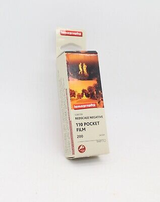 Lobster Redscale ISO 200 110 Negative Film - Brand-new boxed film - Latest Stock