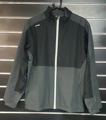 Ping Anders Chaqueta Impermeable - Negro/Gris - Pequeño Ahora