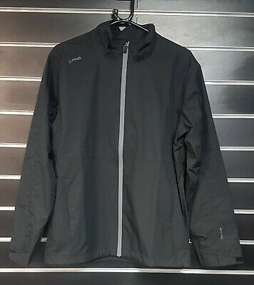 Ping Anders Chaqueta Impermeable - Negro - Pequeño Ahora