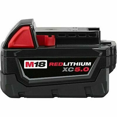 Milwaukee 48-11-1850 18V 5.0Ah M18 Redlithium Battery - 2 Pieces