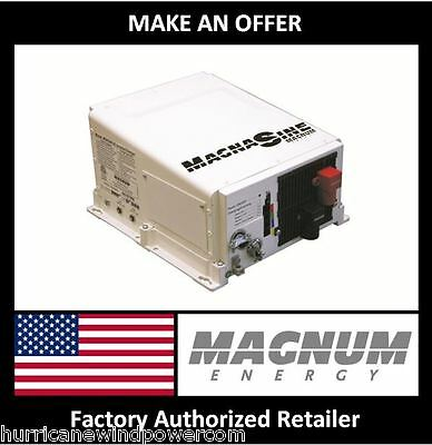 Magnum MS4024PAE Inverter Charger, 4000W 24VDC 120/240VAC Pure Sine, USA