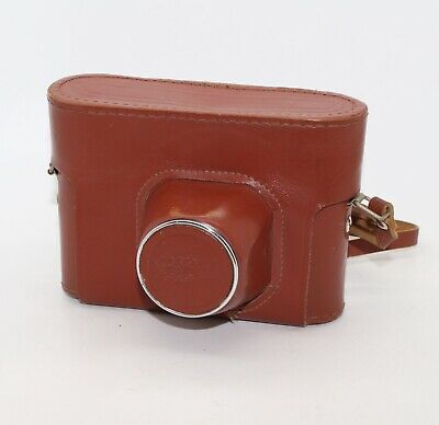 Fed 4 Leather Ever Ready Case (ERC) with strap for the 'Russian Leica' - VGC