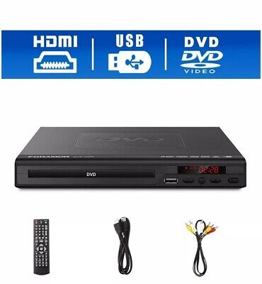 Hdmi Dvd Player With Remote Control New