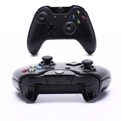 Bluetooth Wireless Games Controller Gamepad Joystick Microsoft Xbox One Black UK