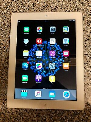 Apple iPad 1 Tablet A1416 - White Silver 16GB 1st Generation 9.7 inch mac ipod