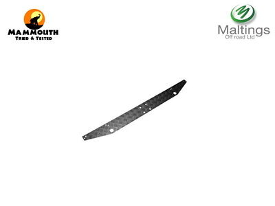 Land Rover Defender Rear Cross Member Chequer Plate Black Powder Coat 1983-2016