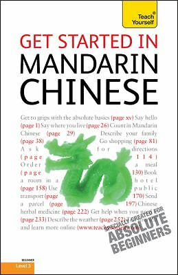 """""""Get Started in Mandarin Chinese by Scurfield, Elizabeth """""""