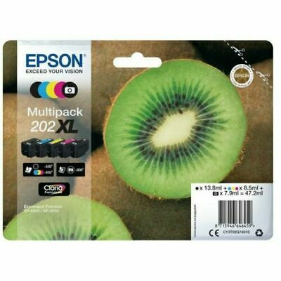 Genuine Epson202XL Multipack  Ink Cartridge T02G740 for XP-6000 XP-6005 XP-6100