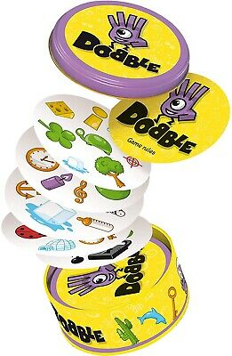 Asmodee Dobble Card Game Society Games Age 6+ English Rules Included 2-8 Players