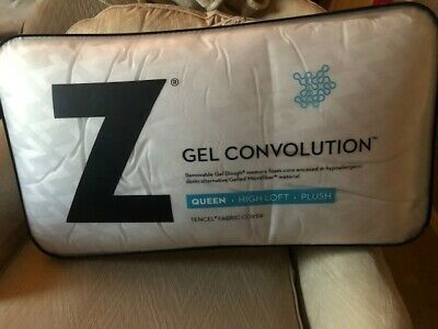 Damaged Packaging Back and Neck Support Queen Z Gel Convolution Bed Pillow