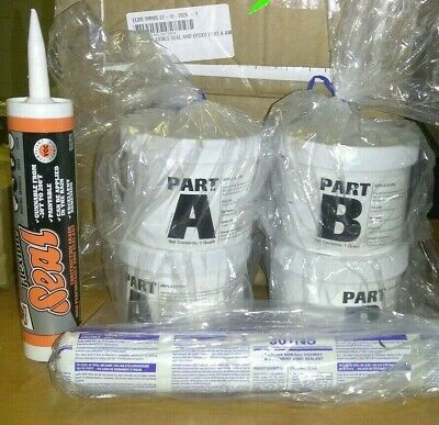 New Flexible Seal And Epoxy Part A And B Kit