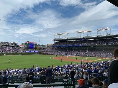 Cubs Season Tickets 2020 (2) Entire Season w/ PLAYOFF/CONCERT PACKAGE (Lowers)
