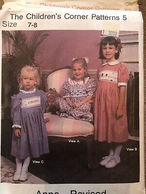 The Childrens Corner Sewing Patterns X 10 Vintage Rare Collectable embroidery