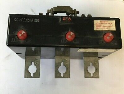 Westinghouse Ka3225Ta 225A Trip Unit 3Pole