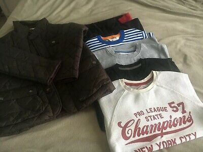 Boys Clothes Bundle Jacket Tops Sweatshirts Next H&M Age 7-8 Yrs