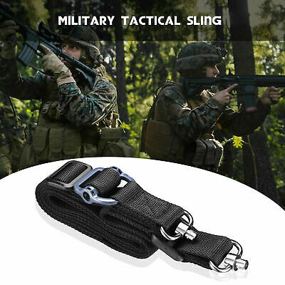 "Retro Tactical Quick Detach QD 1 / 2 Point Multi Mission 1.2"" Rifle Sling Nylon"