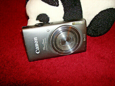 Canon PowerShot ELPH 130 IS Digital Camera - Gray 16MP
