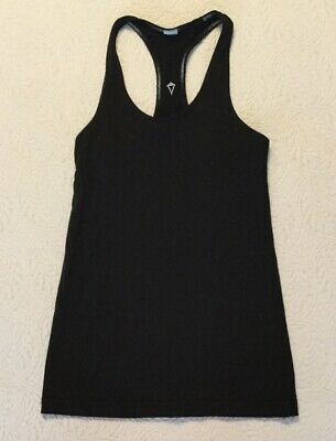 Kids ivivva girls Black Athletic tank size 10